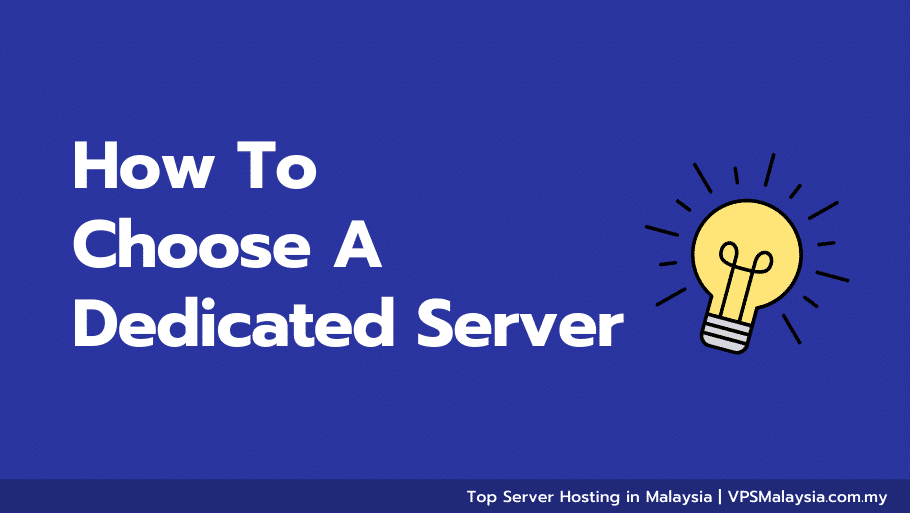 Feature image of how to choose a dedicated server