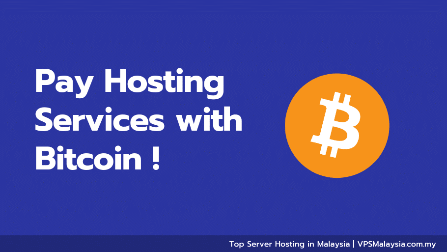 Feature image of pay hosting services with bitcoin