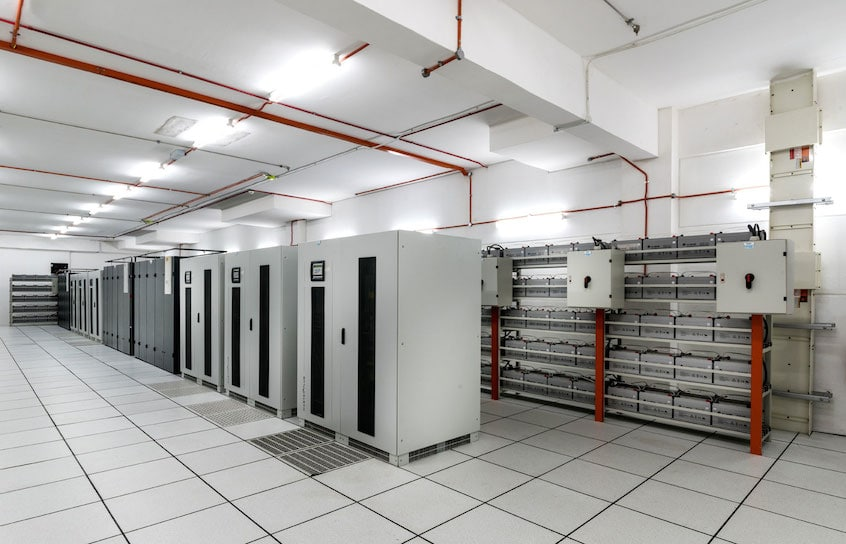 Photo for ups room in data center vpsmalaysia