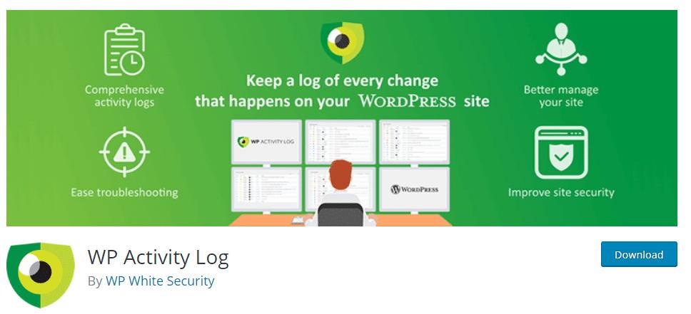 WP activity log